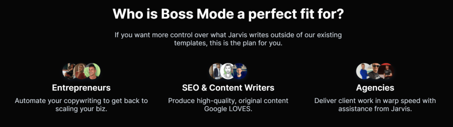 Jarvis.ai boss mode: who should use this feature
