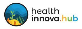Logo Preto Health Innova HUB JPG