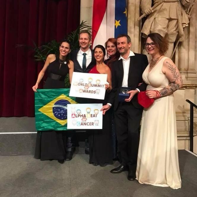 World Summit Award BeaBa - Alpha Beat Cancer