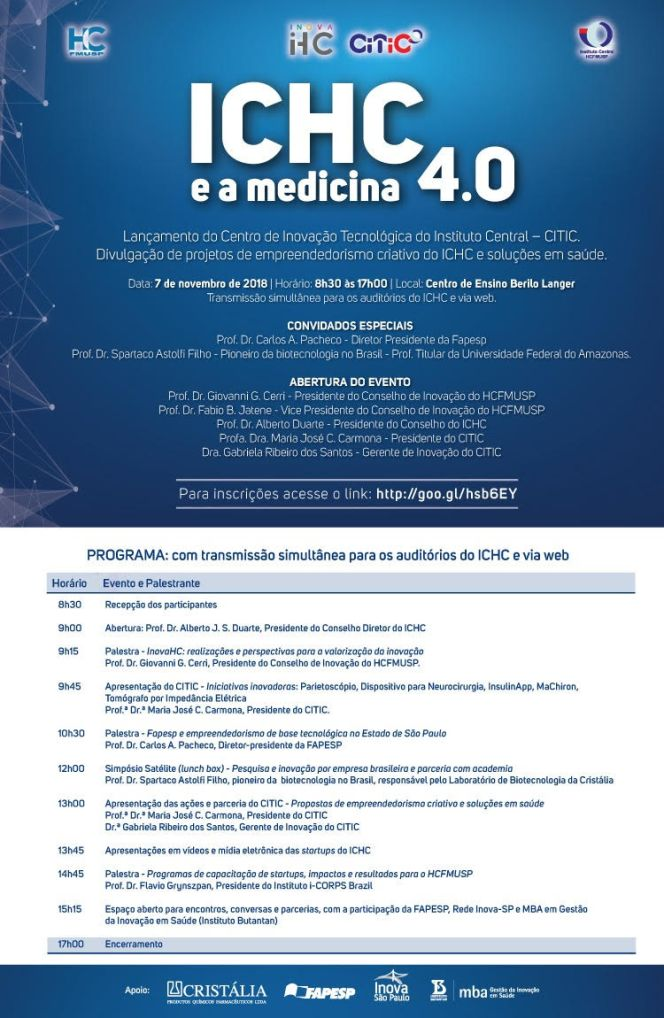 ICHC e a Medicina 4.0