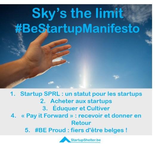 Startup manifesto
