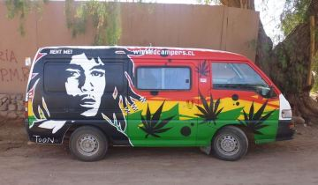 weed delivery truck