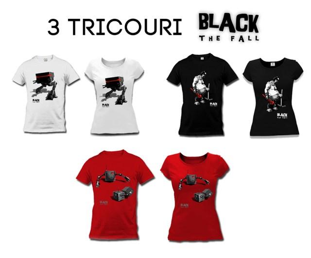 Tricouri Black The Fall