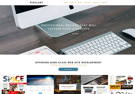 Website Design WordPress Theme
