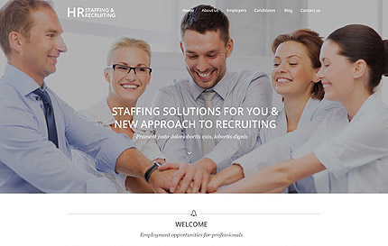 Public Relations WordPress Theme
