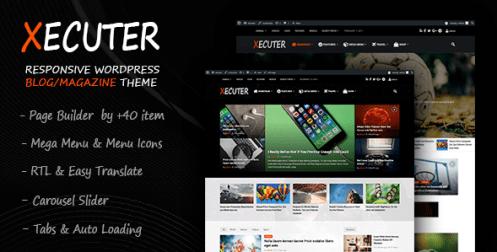 Xecuter - Responsive WordPress Blog Magazine Theme