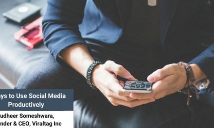 4 Ways to Use Social Media Productively