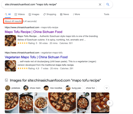 """google search results for site:chinasichuanfood.com """"mapo tofu recipe"""""""