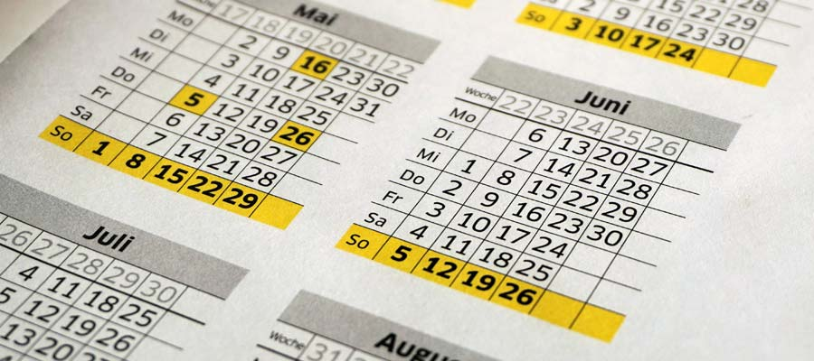 Eventkalender (Bild: Pixabay)