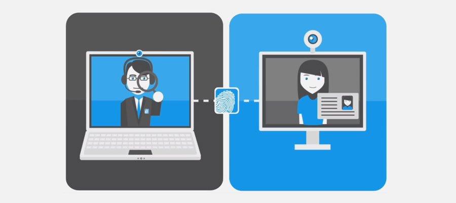 Video Ident Verfahren (Bild: WebID)