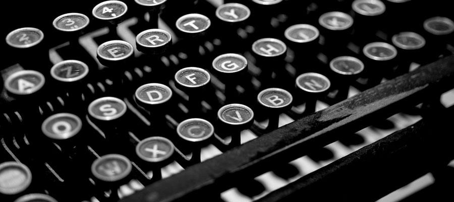 Schreibmaschine (Bild: Pixabay)