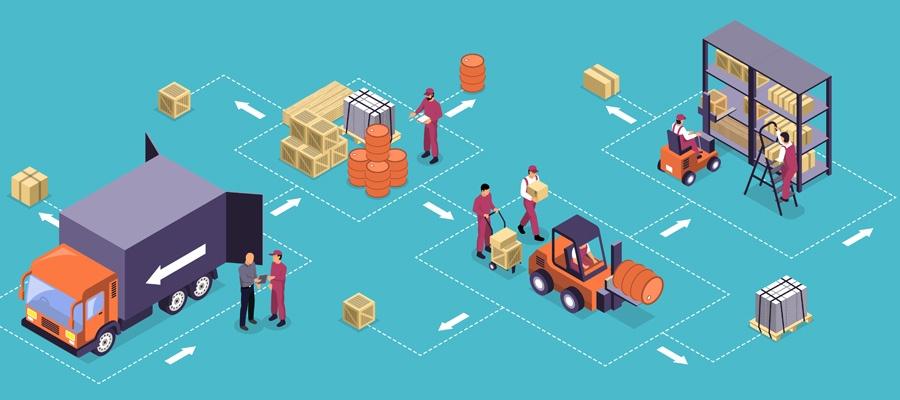 Ecommerce Onlineshop Logistik (Bild: Freepik)