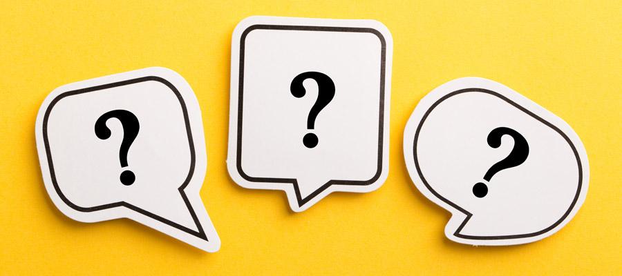 Über uns Fragezeichen (Bild: Shutterstock)