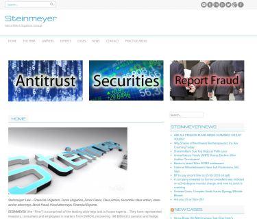 SteinmeyerWebsiteScreenshot