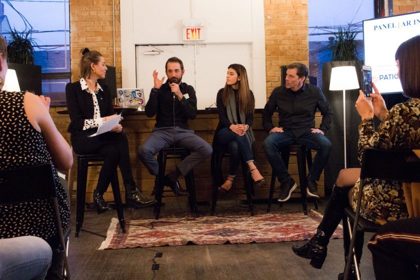 AR in Retail panel at StartWell for New Realities with AWENiteTO