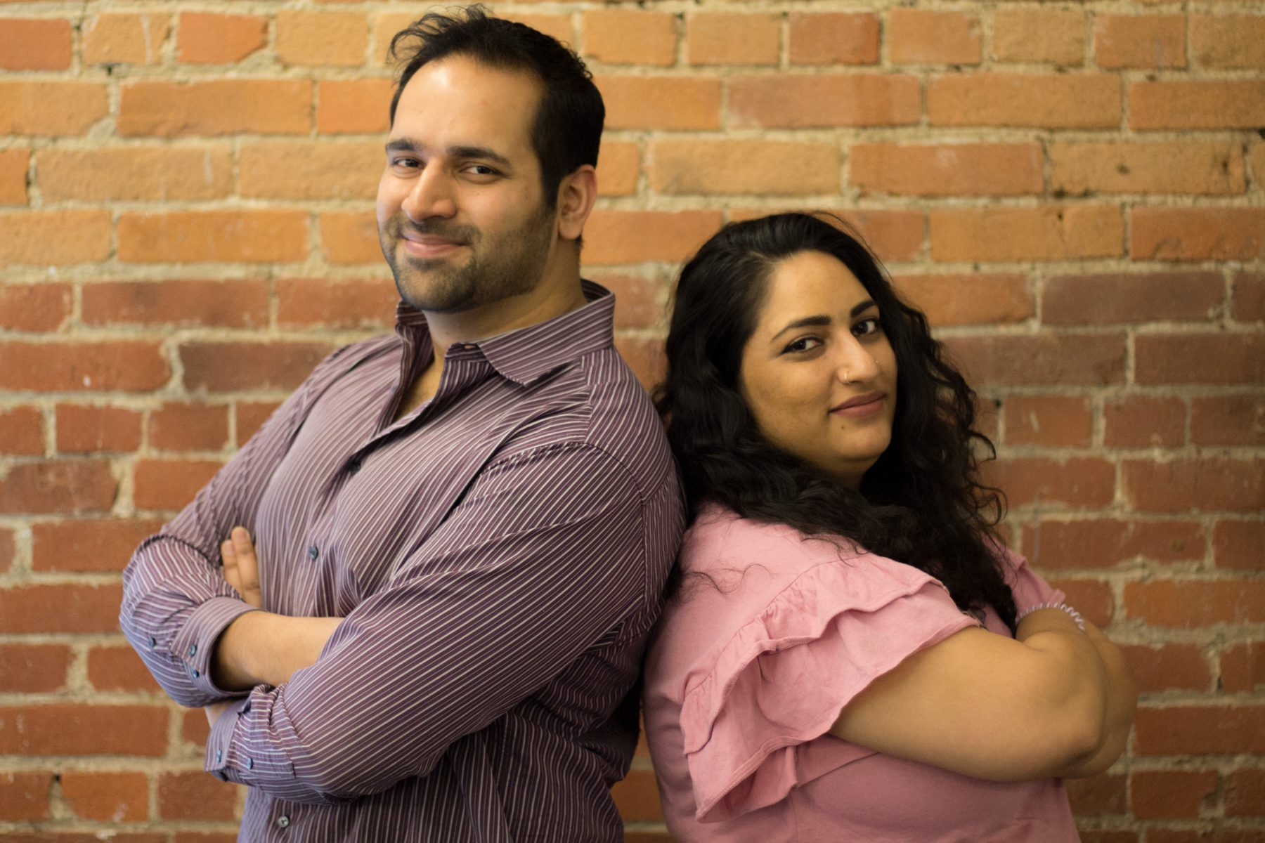 Rehman (CEO) and Noor (Operations Mgr) from teaBot at Startwell