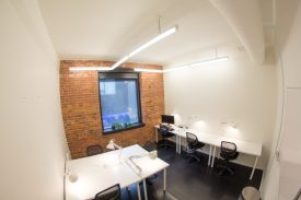 Your new workspace - a bright, spacious room with plenty of light and Western exposure