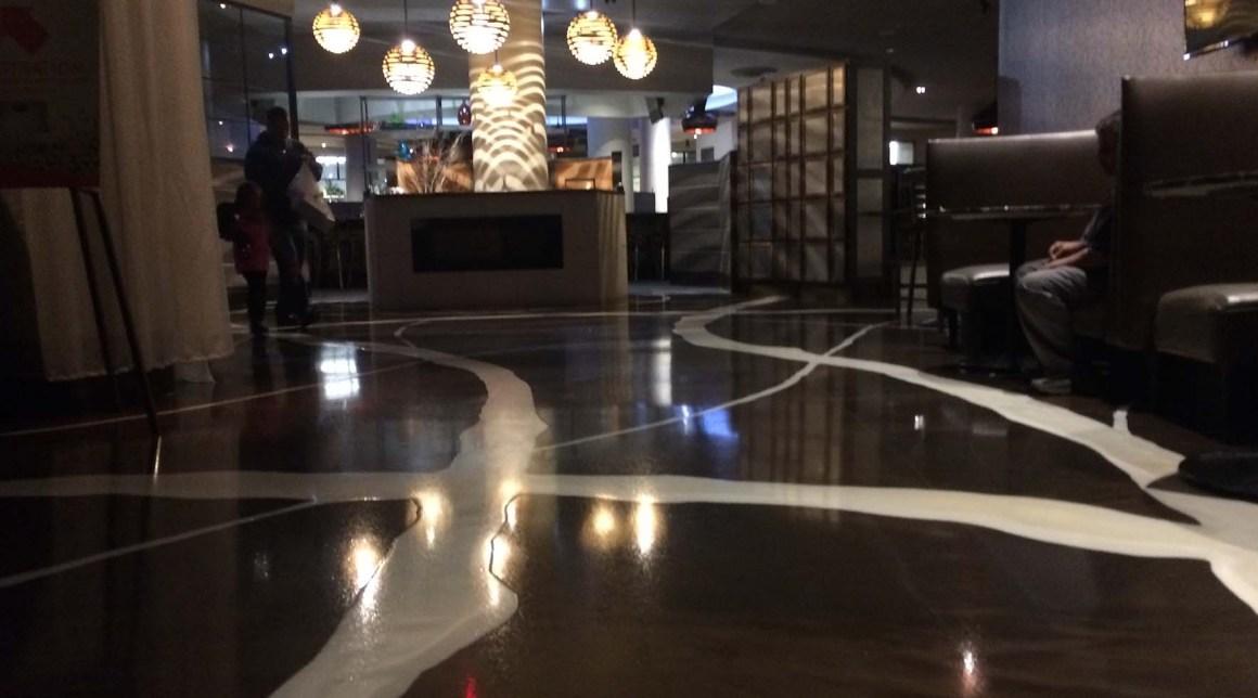 Metallic ReFLEXions epoxy flooring