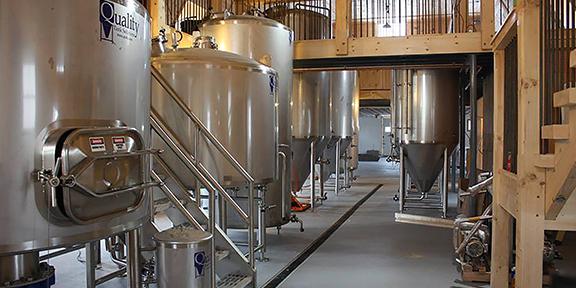 Fox Farm Production Room with polyurethane floor
