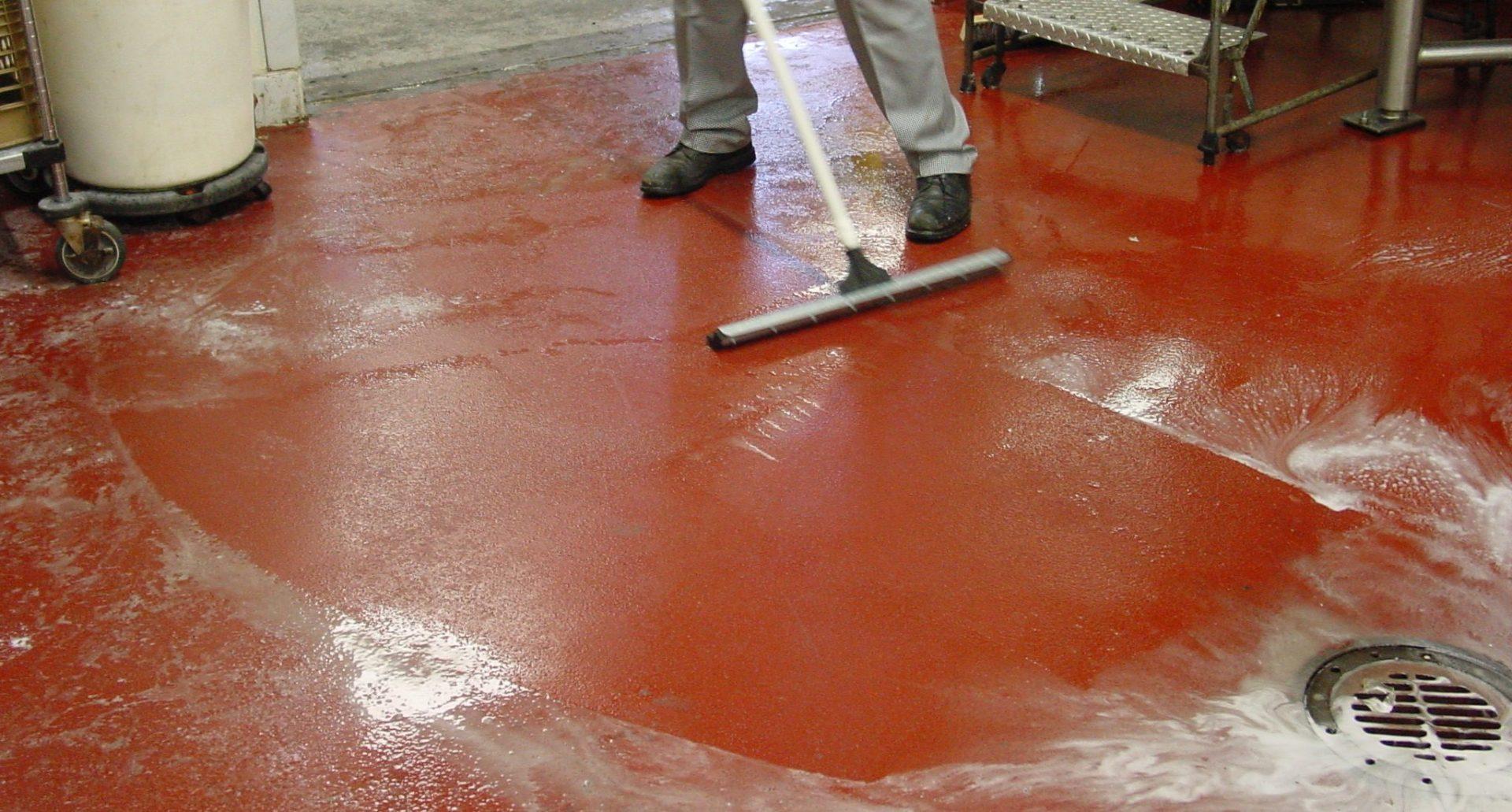 Cleaning Resinous Floor