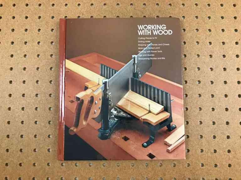 Working with wood book