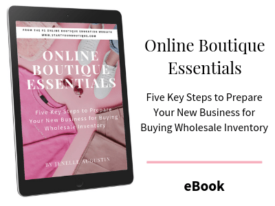 How to start an online boutique eBook