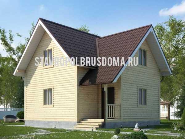 Проект Дом в 2 этажа 8х8: фото и планировка - цены на ...