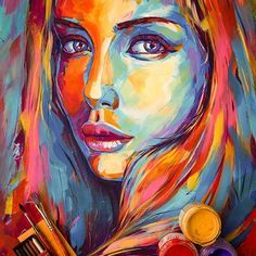 cool painting of portraits of people – Google Search