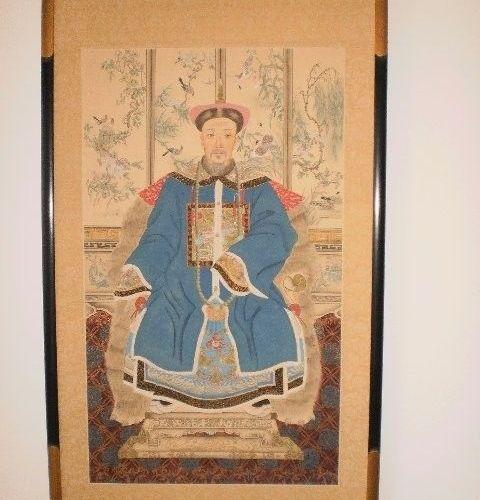 Oriental Artwork for Sale EMPEROR/EMPRESS