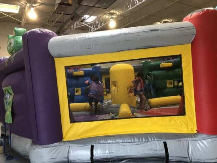 GALAXY GAMES - OBSTACLE COURSE BOUNCE HOUSE 1
