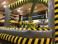Bounce House Rental Ideas Wipeout Inflatable