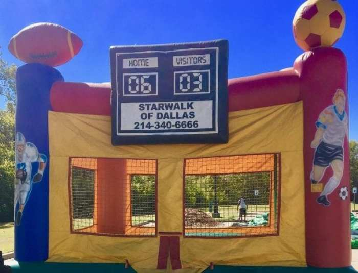 Sports bounce house rental near you