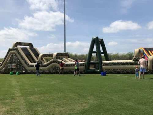 BOOT CAMP INFLATABLE OBSTACLE COURSE 4