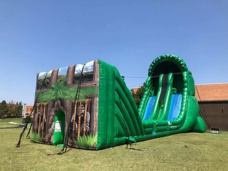 Inflatable Zip Line rental Dallas