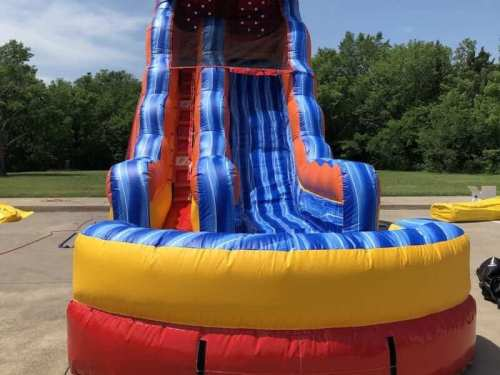 dry inflatable slide rental