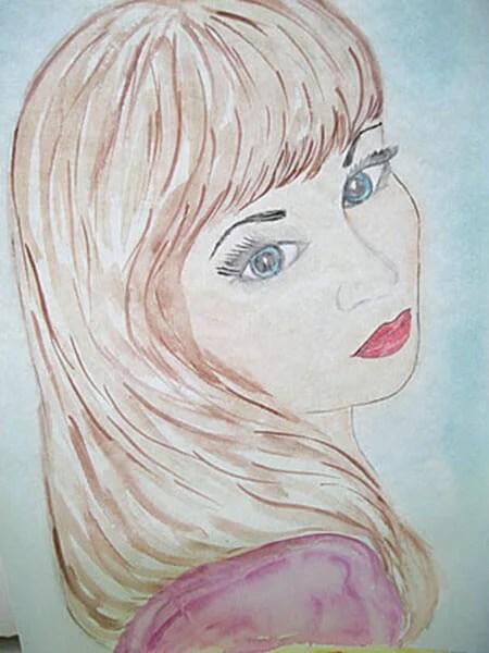 Портрет для мамы: Как нарисовать маму карандашом поэтапно ...