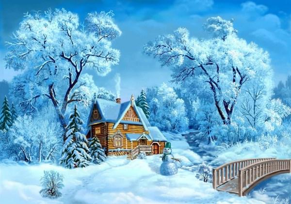 Картинки детские про зиму: для детей, красивые, с надписью