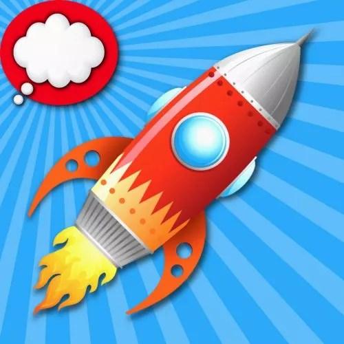 Рисунок для детей ракета в космосе: Картинки и детские ...