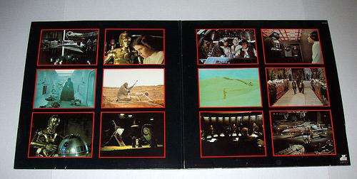 soundtrack album gatefold sleeve
