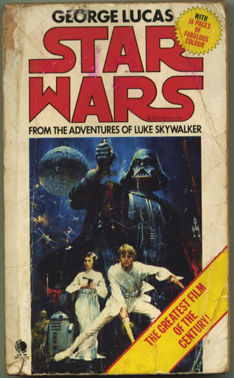 the 1977 star wars novelisation