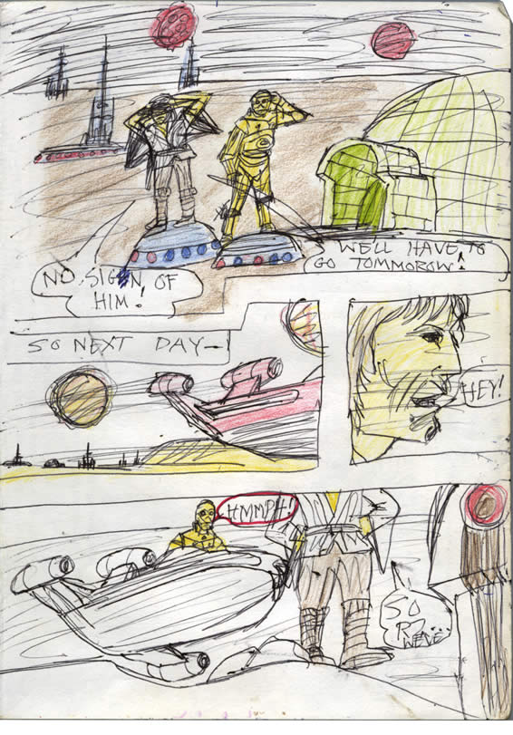 040: Luke and C-3PO search for R2-D2