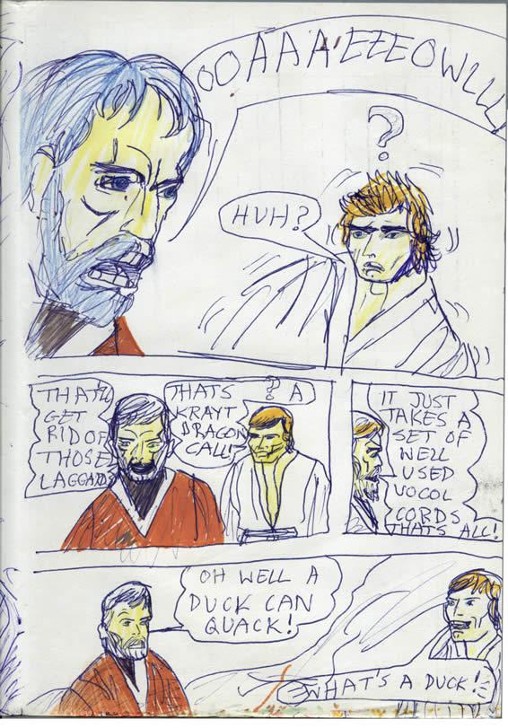 "044: Kenobi's Quack Philosophy: ""What's a duck?"""