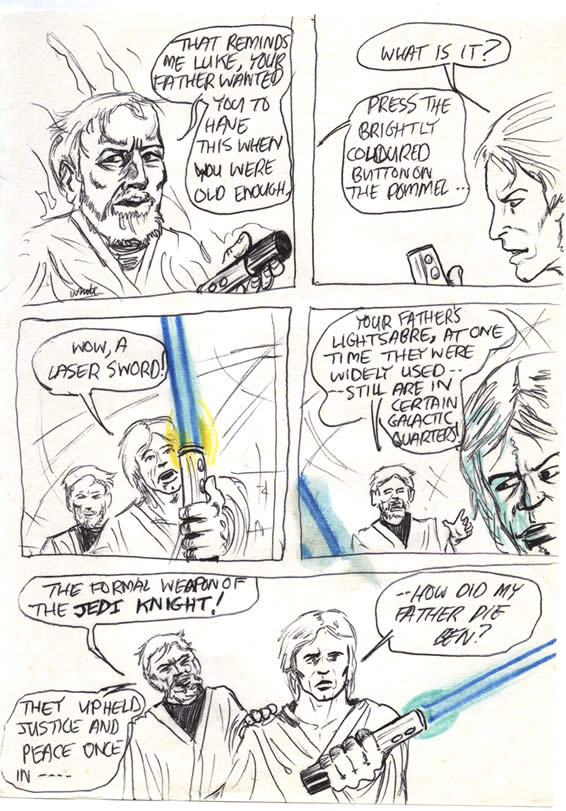 """048: """"Your father's lightsaber"""""""