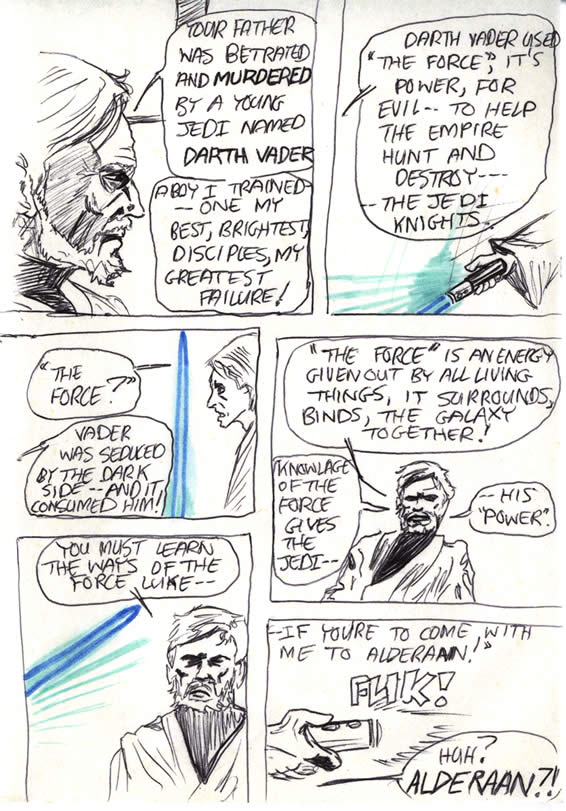 """050: """"Vader was seduced by the Dark Side"""""""