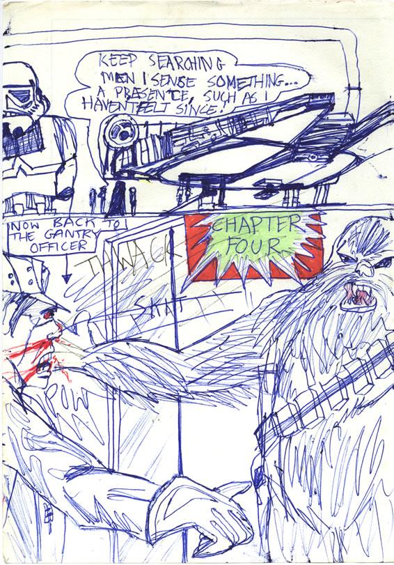 099: Chewie Thwacks the Gantry Officer