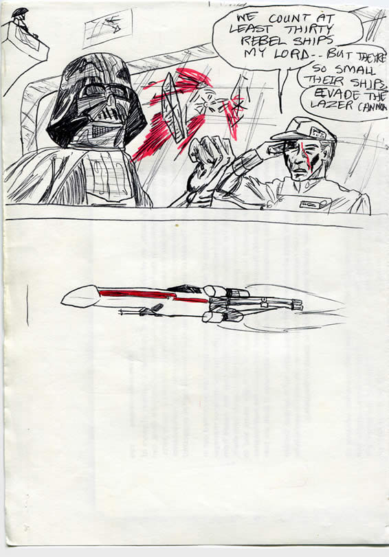 """174: """"We count thirty Rebel ships, Lord Vader"""""""