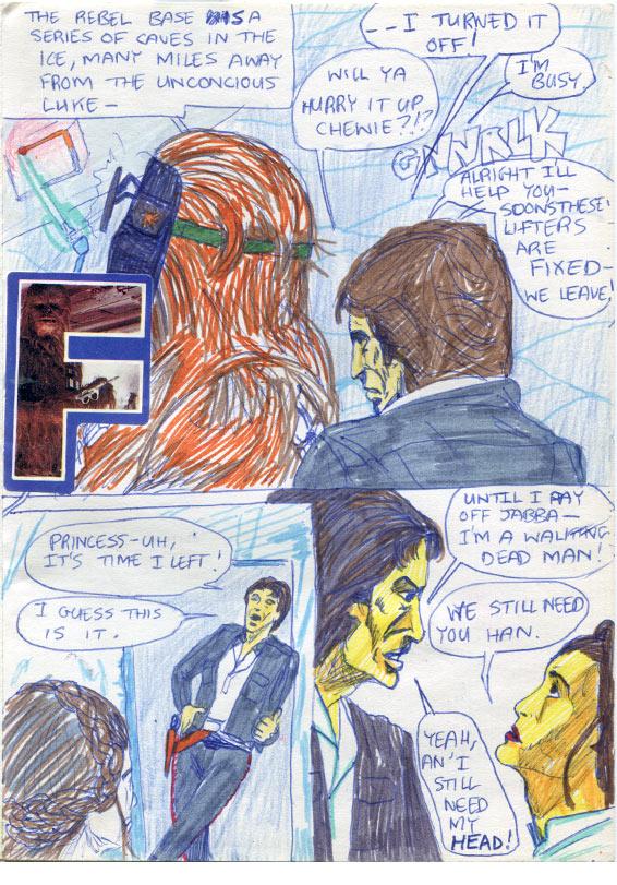 05: Han says Goodbye to Leia