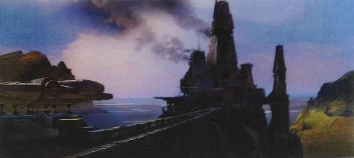 Concept Art - Millennium Falcon - Skellig Michael