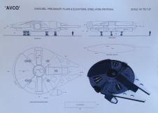 Plan - Millennium Falcon - The Carosel - Avco