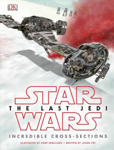 The Last Jedi Incredible Cross-Sections Cover
